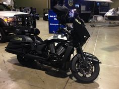 Victory police motorcycle!