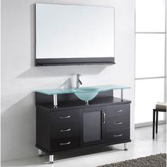 Vincente 48-inch Single Sink Bathroom Vanity Set