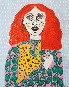 This reminds me much of myself! by Camilla Perkins