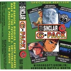 Your Sinclair Issue 64: 6-Pack March 1991 for ZX Spectrum