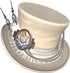 Steampunk Hat that I would love for Paul to make for me!