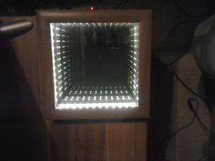 Make an infinity mirror