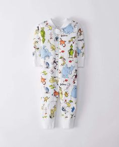 444fd0cf7b Dr. Seuss Baby Sleepers In Organic Cotton Baby Boy Or Girl