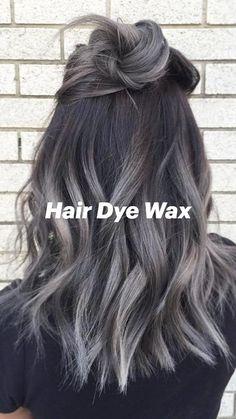 Hair Color Dark, Ombre Hair Color, Cool Hair Color, Silver Ombre Hair, Brown And Silver Hair, Brown Hair With Silver Highlights, Red Color, Ombre Brown, Grey Brown Hair