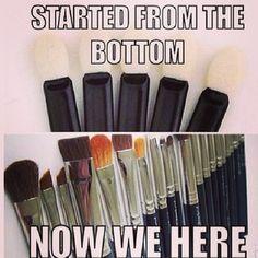 brushes on brushes on brushes
