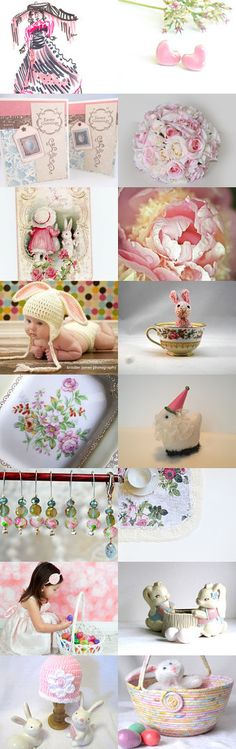Easter Pastels by gclasergraphics on Etsy--Pinned with TreasuryPin.com