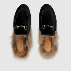 db7d851afd0 Gucci Princetown velvet slipper Detail 3 Gucci Loafers Women