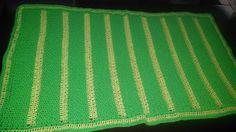 Ravelry: StitchAngel's Green Baby Blanket