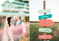 Colorful Texas farm wedding | Real Weddings and Parties | 100 Layer Cake