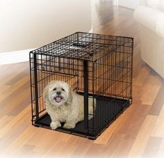 """DOG CONTAINMENT - CRATES - OVATION CRATE - 30"""" BLACK - MIDWEST METAL PRODUCTS CO., - UPC: 27773015703 - DEPT: DOG PRODUCTS"""