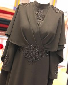 New wedding dresses hijab syari ideas Arab Fashion, Islamic Fashion, Muslim Fashion, Modest Fashion, Fashion Dresses, Kebaya Dress, Dress Pesta, Abaya Mode, Mode Hijab