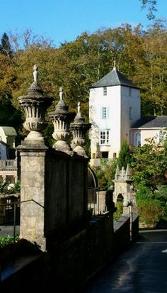 Portmeirion is a popular tourist village in Gwynedd, Wales (by Capt' Gorgeous on Flickr)