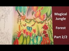 Forest | Part2/2 | MAGICAL JUNGLE by Johanna Basford - YouTube