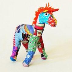 Patchwork donkey