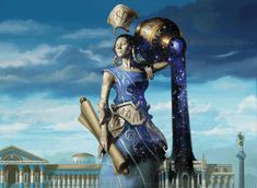 Magic the Gathering, Gods of Theros:  Ephara, God of the Polis, by Eric Deschamps