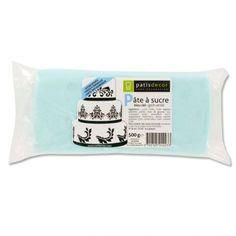 Pâte à sucre couleur bleu ciel Patisdécor pas chère de qualité supérieure, prête…