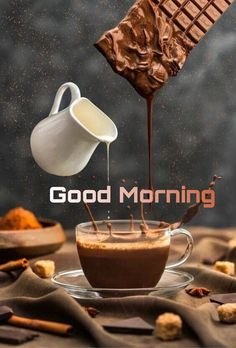 Coffee and Breakfast Greeting Best good morning Images Nice Good Morning Images, Morning Coffee Images, Good Morning Cards, Morning Morning, Good Morning Coffee, Good Morning Good Night, Good Morning Wishes, Funny Morning, Beautiful Morning