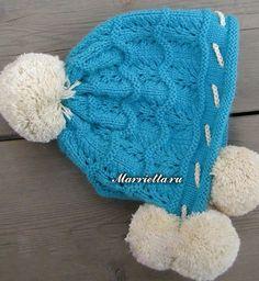 Детская теплая шапочка спицами (3) (531x577, 354Kb)