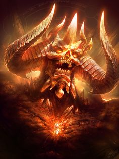 Diablo (Colored version) :: Dmitry Prozorov - CGHell.com