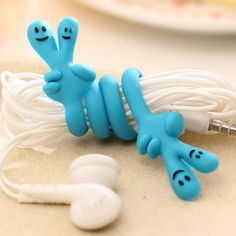 【 $1.26 & Free Shipping / Coupons 】Various palm bent fingers lovely finishing headphone cable power line table clean cartoon | worth buying on AliExpress