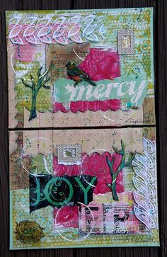 Joy and Mercy Collages by laenglehardt, via Flickr