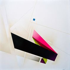 Infatuation - 2014 Mixed media on canvas 80cm X 80cm  #remirough #suprematism…