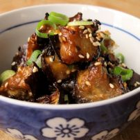Nasu Dengaku なす田楽 (Oven Roasted Eggplant with Miso) Chinese Chicken Recipes, Asian Recipes, Healthy Recipes, Hunan Chicken Recipe, Oriental Recipes, Asian Foods, Diet Recipes, Oven Roasted Eggplant, Roast Eggplant