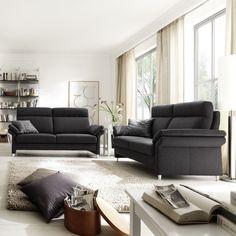 Mit der #321-Garnitur Horsens den #Feierabend genießen. #Wohnzimmer #Garnitur #Polstermöbel Findet ihr unter www.moebel-ideal.de