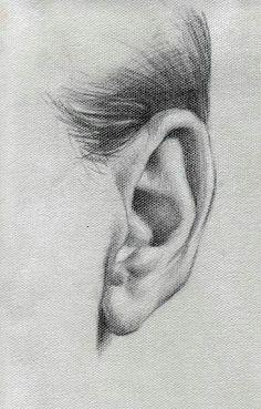 Karakalem kulak çizimleri