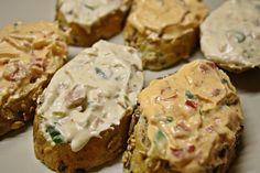 Several variations of Czechoslovakian sandwich spreads Read Recipe by drbswife Slovak Recipes, Czech Recipes, Hungarian Recipes, Hungarian Food, Appetizer Recipes, Snack Recipes, Appetizers, Sandwiches, Sandwich Spread