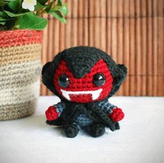 Free Amigurumi Patterns Halloween : Halloween on Pinterest Amigurumi, Halloween Crochet ...