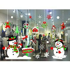 Merry Christmas Vinyl Art Home Window Shop Wall Stickers Decals Decor Removable Christmas Window Decorations, Homemade Christmas Decorations, Christmas Card Crafts, Christmas Store, Christmas Clipart, Christmas Signs, Christmas Art, Holiday Decor, Christmas Photo Booth