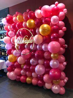 Balloon Party, Balloon Ideas, Balloon Decorations Party, Balloon Wall, Balloons, Frames On Wall, Workplace, Bliss, Birthdays