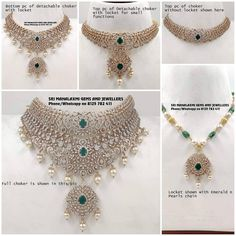 Fancy Jewellery, Gold Jewellery Design, Stylish Jewelry, Diamond Jewellery, Gold Jewelry, Ruby Jewelry, India Jewelry, Diamond Necklace Set, Gold Necklace