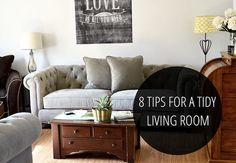 Avoid the Clutter: 8 Clever Tips for a Tidy Living Room