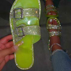 US$ 14.49 US$ 20.70 Bling Sandals, Rhinestone Sandals, Women's Sandals, Open Toe Shoes, Wedge Shoes, Women Slides, Wholesale Shoes, Wholesale Clothing, Beach Shoes