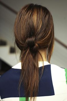 the knotty pony: so cute hair