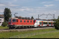 High quality photograph of SBB Re 620 (Re # 620 043 at Erlen, Switzerland. Location Map, Photo Location, Swiss Railways, Winterthur, Electric Locomotive, Basel, Switzerland, Trains, United Kingdom