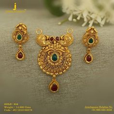 Gold 916 Premium Design Get in touch with us on Gold Mangalsutra Designs, Gold Earrings Designs, Gold Drop Earrings, Necklace Designs, Antique Jewellery Designs, Gold Jewellery Design, Designer Jewelry, Personalized Gold Necklace, Viria