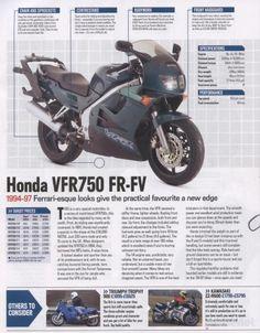 Honda VFR750F 1994 - 1997