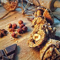 Kokos mandel haselnussmakronen