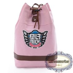 Girls Generation Canvas Backpack (JNS0005)  Material : Canvas  Height : ~45 cm  Thickness :~14 cm Bottom :~30 cm
