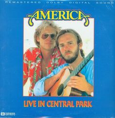 """America """"Live In Central Park"""" PA AC-3 Music Laserdisc SEALED!!"""