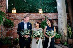 eucalyptus bouquet Carondelet House Los Angeles Wedding Kevin Le Vu Photography-20