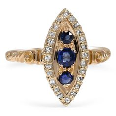 18K Yellow Gold The Liana Ring from Brilliant Earth