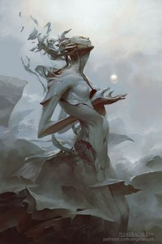 Angelarium: Emanations on Behance