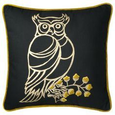 Owl pillow, part of the Patch Shop at Target this fall