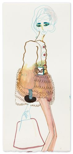 Tanya Ling illustration-- potentially my new favorite person...