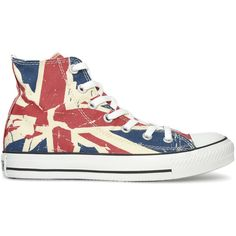 CONVERSE Union Jack Hi shoes (€37) ❤ liked on Polyvore featuring mens, men's shoes and shoes