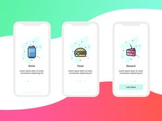 Onboarding food apps